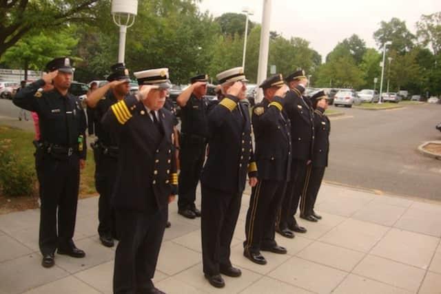 The 2014 Norwalk 9/11 ceremony.