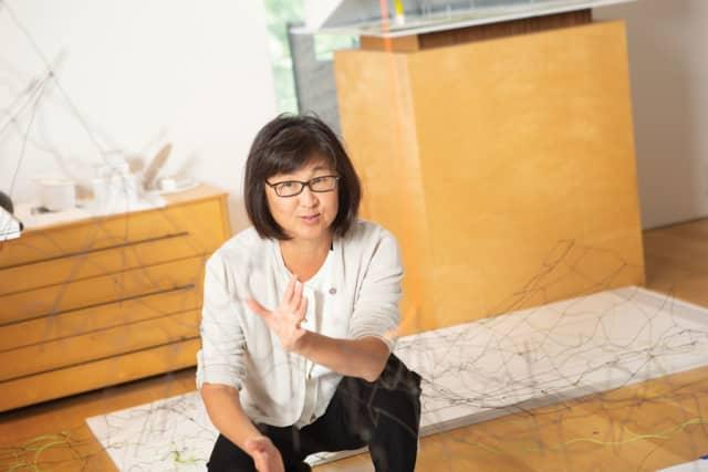 Maya Lin. Photograph by John Rizzo.