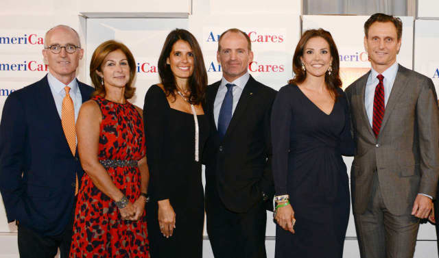 Two Fairfield couples co-chaired the AmeriCares Airlift Benefit Oct. 3.