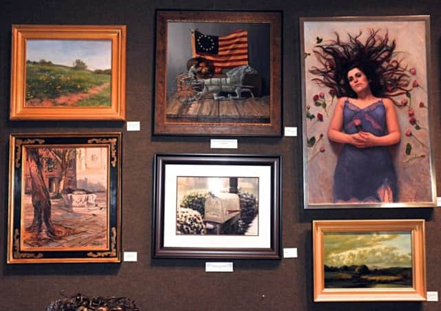Here are some of the exhibited works at the AAPL 87th Grand National Exhibition, last fall.
