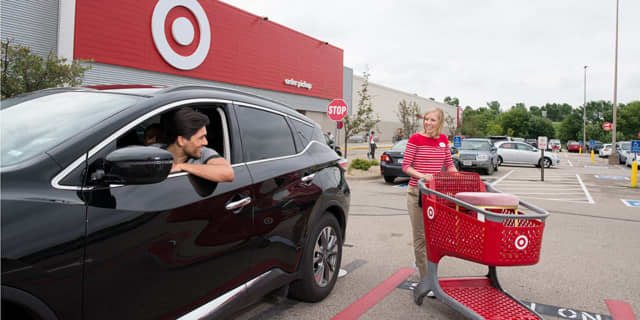 Target is expanding its curb-side service.