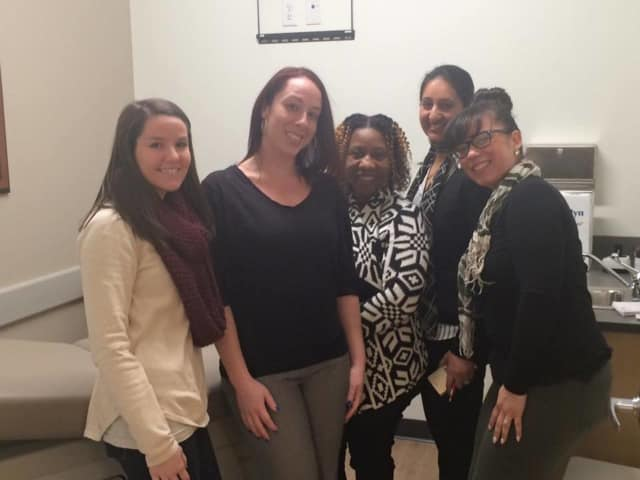 Some of AFC Urgent Care Yorktown staff.