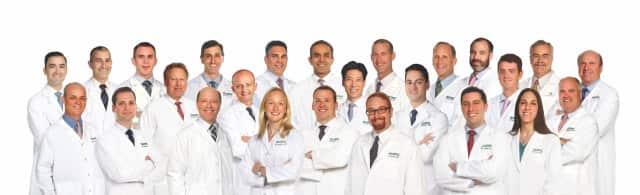 15 orthopedic and neurosurgical specialists were recognized in an annual survey.