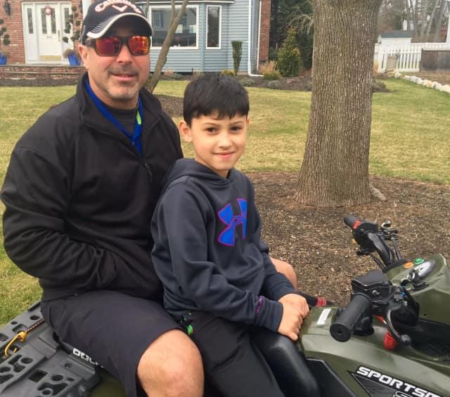 Jeff Klein bought his 9-year-old son, Ziggy, a Polaris ATV.