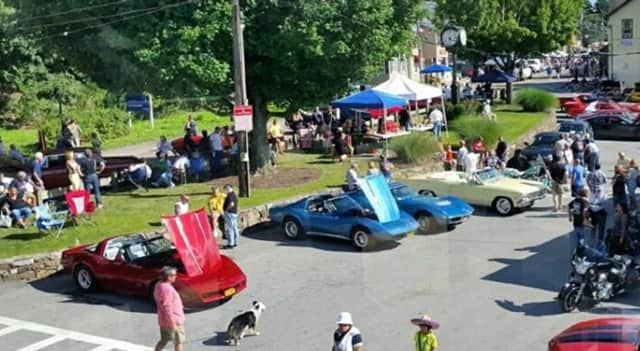 A car show was also part of the 2014 Mount Pleasant Day festivities.