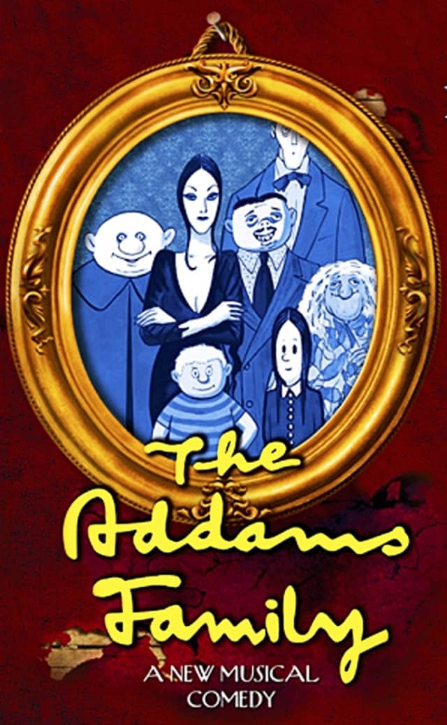 """The Addams Family,"" in musical form, is coming to Haworth later this month."
