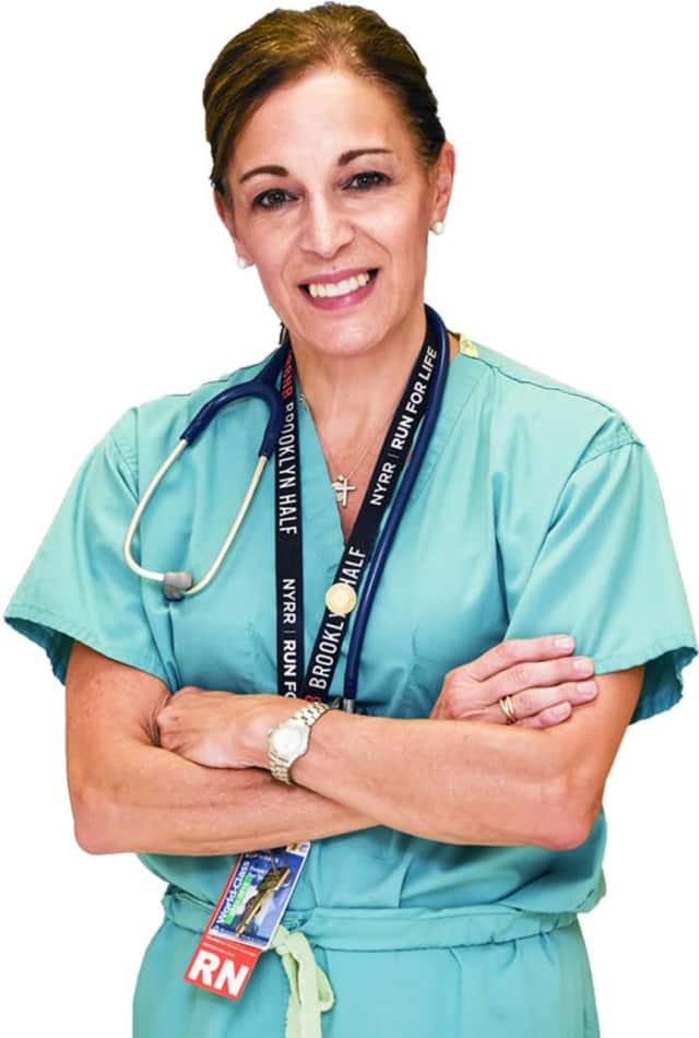 Nurse Adele Rushneck is running this year's TCS New York City Marathon.