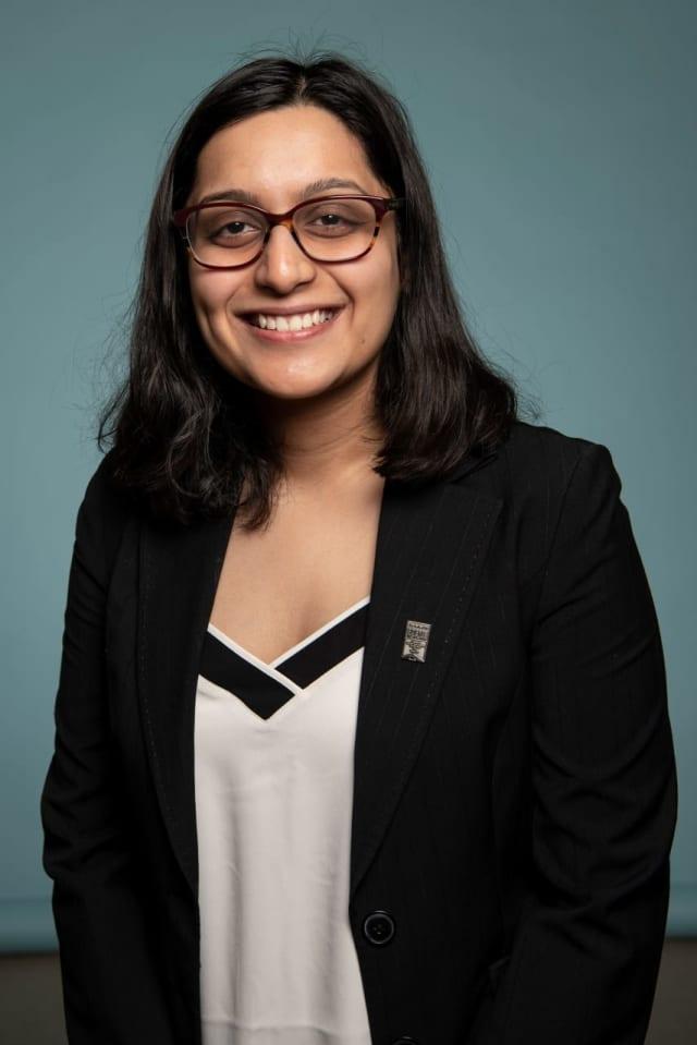 Aditi Singh, graduating senior at Horace Greeley High School in Chappaqua and semifinalist for the 2019 U.S. Presidential Scholars Program
