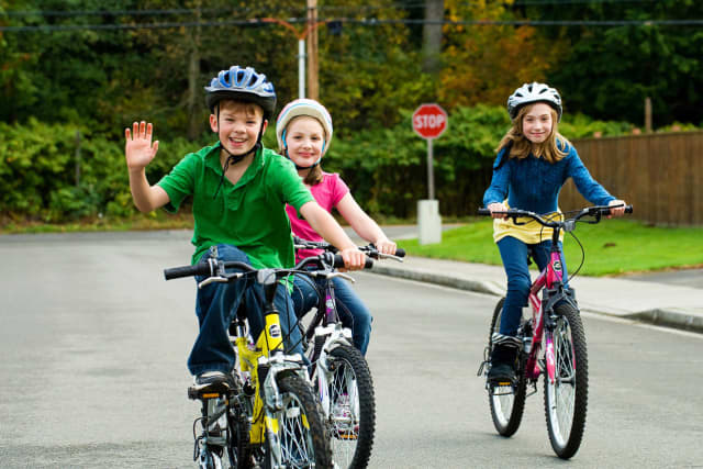 While riding a bike is fun, it can also be dangerous. Here, Dr. Hengel of Phelps Hospital explains simple ways to protect your children.
