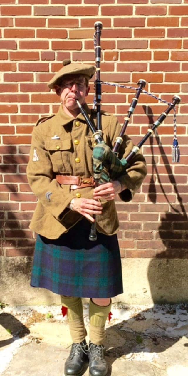 """An award-winning bagpiper honoring the famous """"Black Watch"""" 42nd Highland Regiment, will participate in opening ceremonies for the air show."""