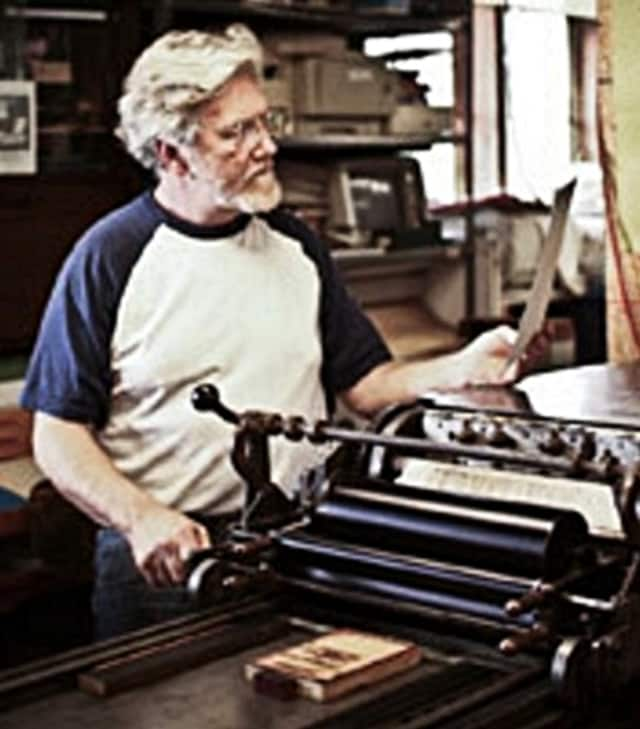 Alan Runfeldt will discuss his passion, the letterpress, March 10 in Mahwah.