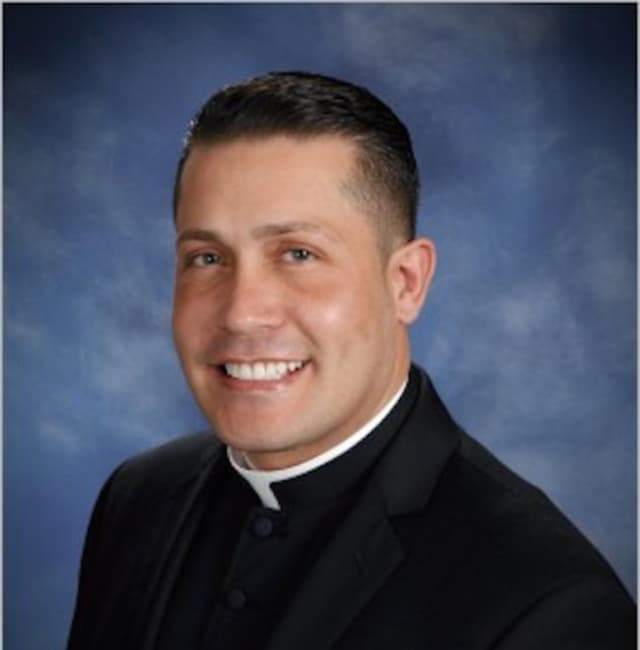 The Rev. Alex Orozco is stepping down during an investigation into the charges he took money from parishioners.