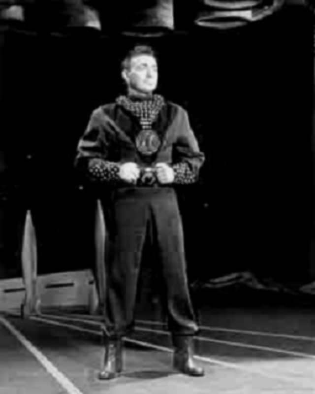 """Alfred Markim played Astro in 1950s TV show """"Tom Corbett: Space Cadet."""""""