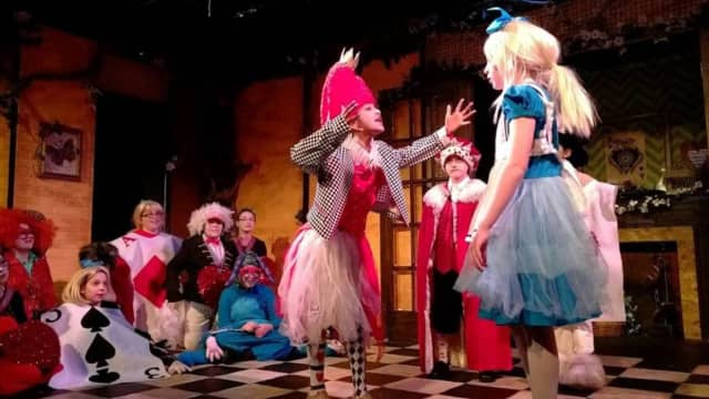 "In late January, Porch Light Productions put on ""Alice in Wonderland."" ""Our Town"" is now coming, beginning next Friday."