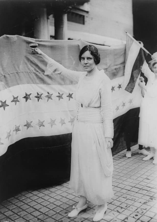 Learn about Suffragist Alice Paul at the Cresskill library on Oct. 29.