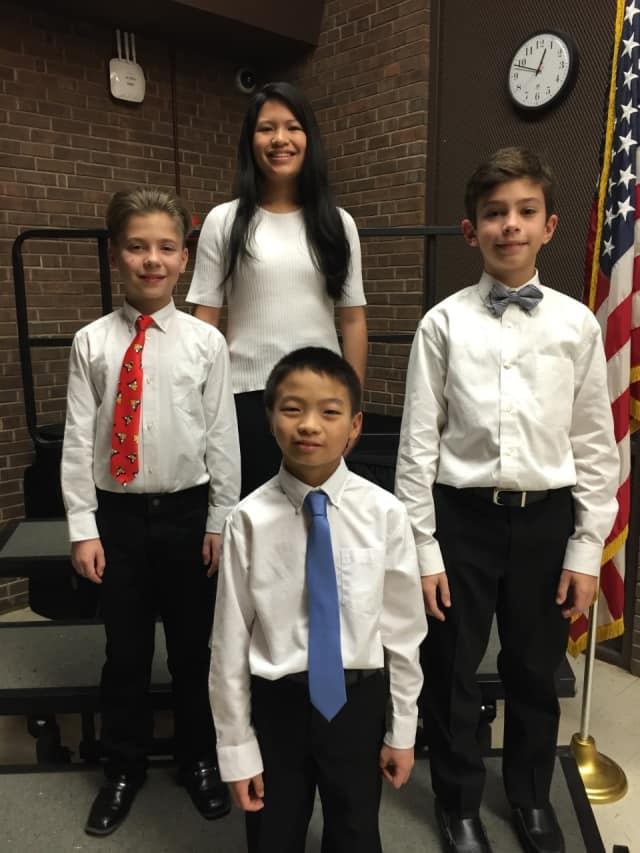 Four students from Port Chester played at the Westchester County School Music Association's All-County Band and Orchestra Festivals.