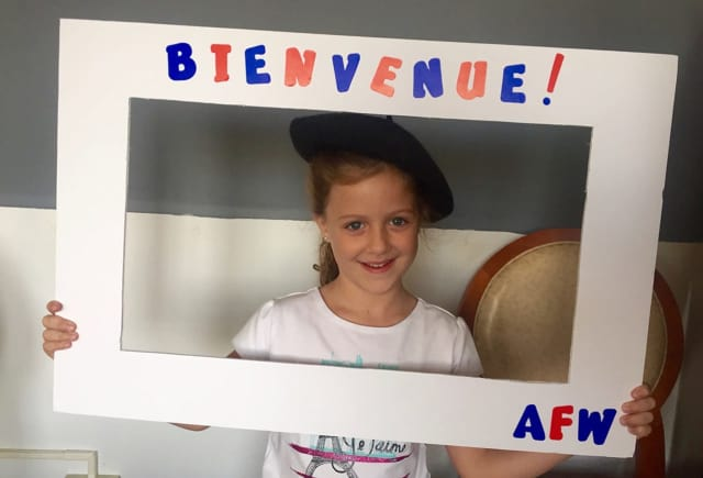 AFW's native French speakers teach classes at all levels and for all ages, from toddlers to adults.