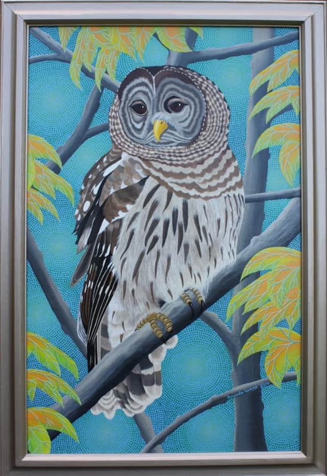 Amanda Lynne paintings will be on display at Kent Public Library throughout the month of May.