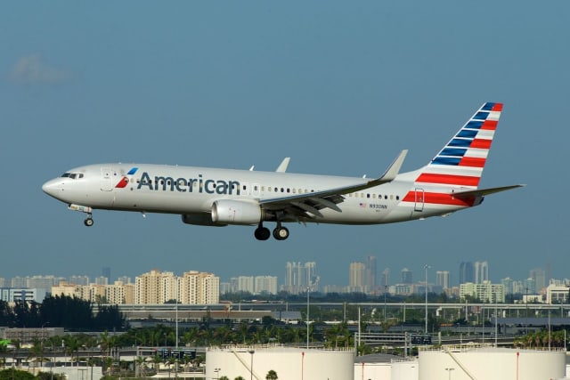 An American Airlines jet made an emergency landing.