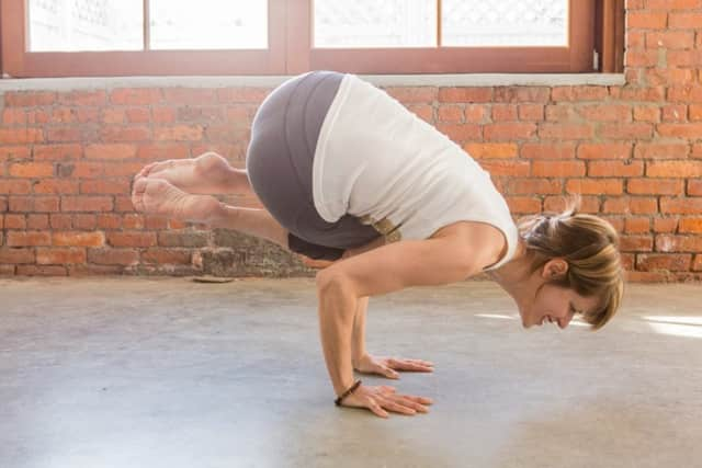 Yoga and meditation instructor Amy Soucy
