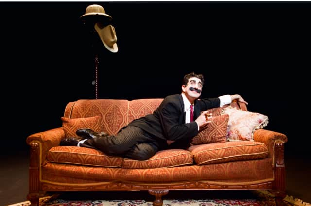 """The Ridgefield Playhouse will host """"An Evening with Groucho Marx"""" on March 19."""