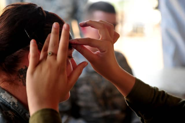 Seven women will get Veterans Day makeovers Nov. 5 at the Garden State Plaza in Paramus.