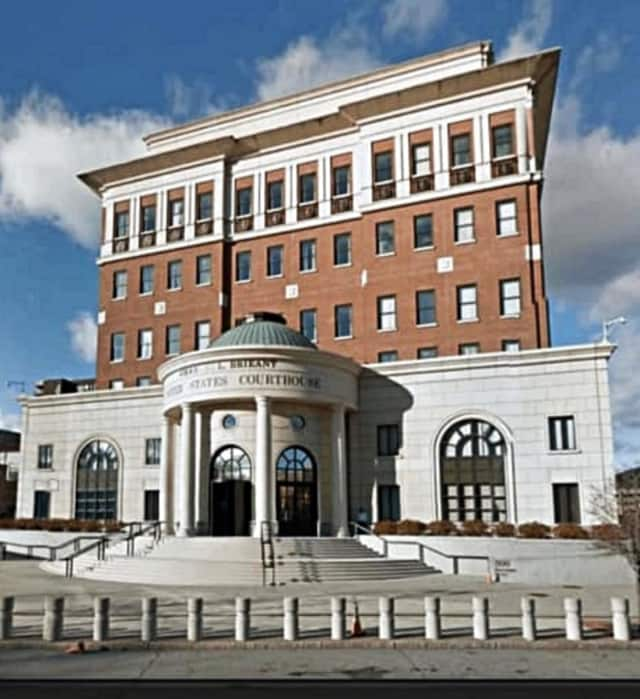 The federal courthouse for the Southern District of New York in White Plains.