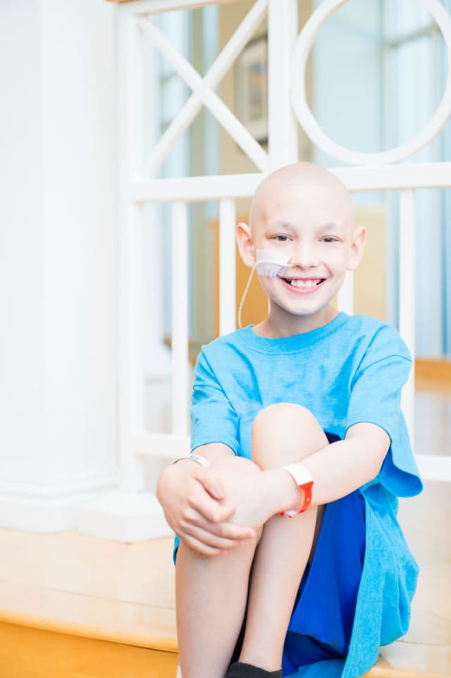 Children like Andrew, who was treated at Maria Fareri Children's Hospital for muscle cancer, will benefit from the upcoming 12th Annual Radiothon For the Kids, hosted by 100.7 WHUD.