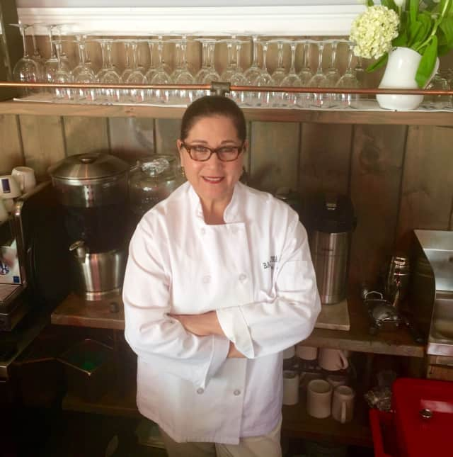Angela Baldanza, co-owner of Baldanza Cafe in New Canaan.
