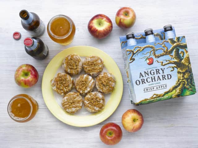 Angry Orchard & The Doughnut Project Introduce the Angry Crisp Doughnut.