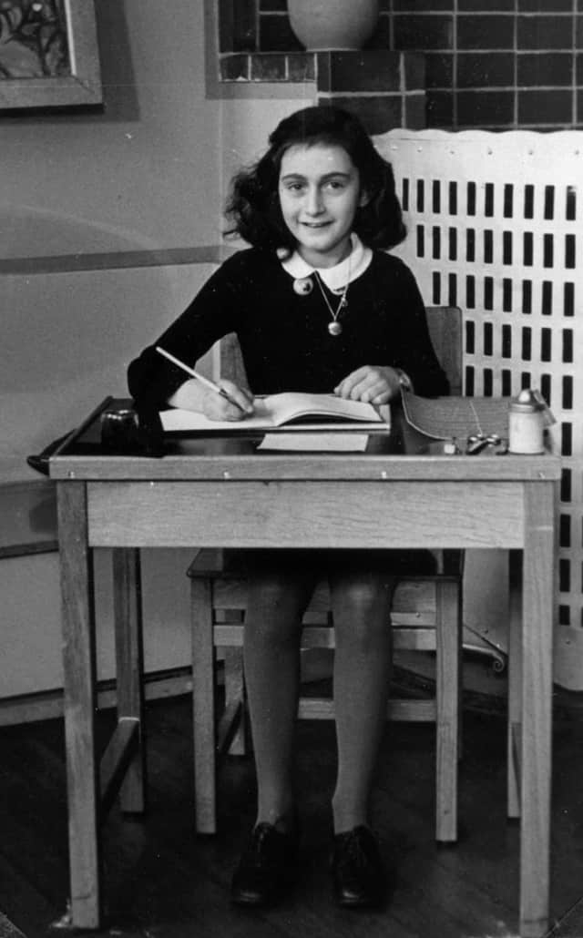 An exhibit of rare photographs and representations of historical events from the life of Anne Frank, pictured, runs to Dec. 7 at the Museum of Arts & Culture in New Rochelle.