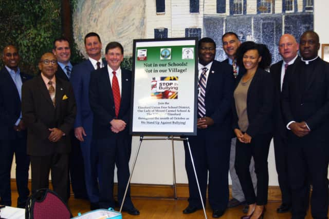 October is now Anti-Bullying Awareness Month in Elmsford.