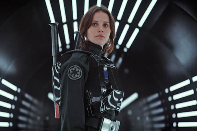 'Rogue One,' the latest installment in the 'Star Wars' saga is running in the IMAX theater at the Maritime Aquarium at Norwalk.