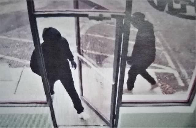 Foligno asked that anyone who might have seen something or has information that could help find the robbers contact his department: (201) 796-0700.