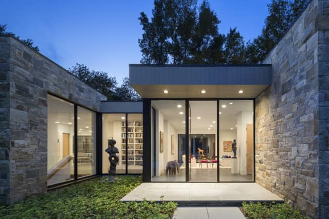 Carol Kurth Architecture received an award for this design called Art House. 2.0.