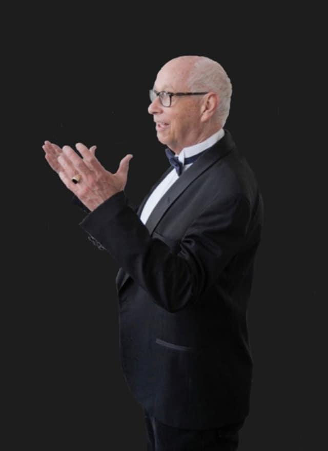 Arthur Sjögren, Charis Chamber Voices' artistic director.