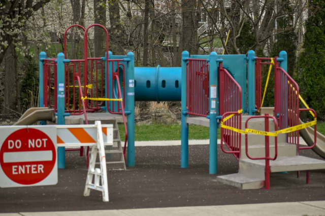 Playgrounds in New Jersey have been closed since mid-March, as one of the many statewide efforts to stop the spread of coronavirus.