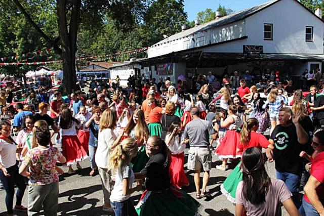 Attendees dance atthe 2015 celebration.