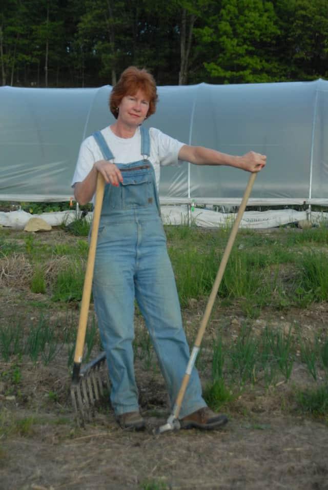 Linda Grinthal, owner of Sunset Vista Community Garden & Learning Center, Inc