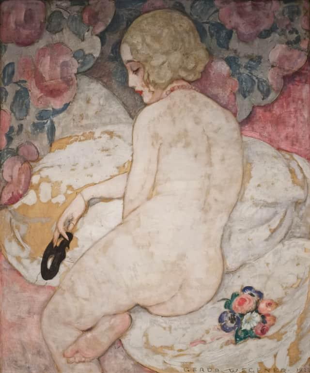 """La Belle Masque"" by Gerda Wegener"