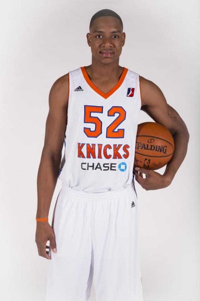 J.R. Inman is getting his third shot with the Westchester Knicks.