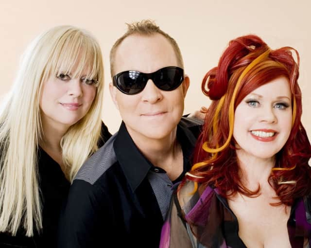 Cindy, Fred and Kate of the B52s will have you on your feet and dancing during their only Connecticut show this summer when The Ridgefield Playhouse welcomes them on June 5.
