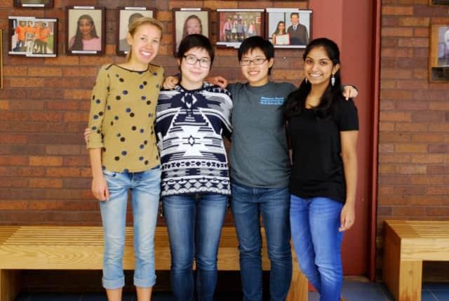 Briarcliff High School seniors, Alexandra Schoepke, Sophie Underwood, Eddie Ho and Samantha Manimala are 2017 National Merit Scholarship semifinalists.