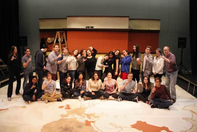 Briarcliff High School is performing 'Around The World In 80 Days.'