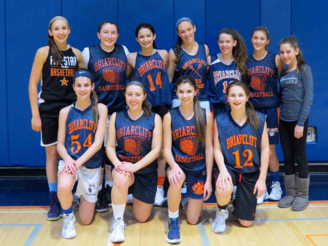The Briarcliff girls basketball team is among the three teams to win regional titles.