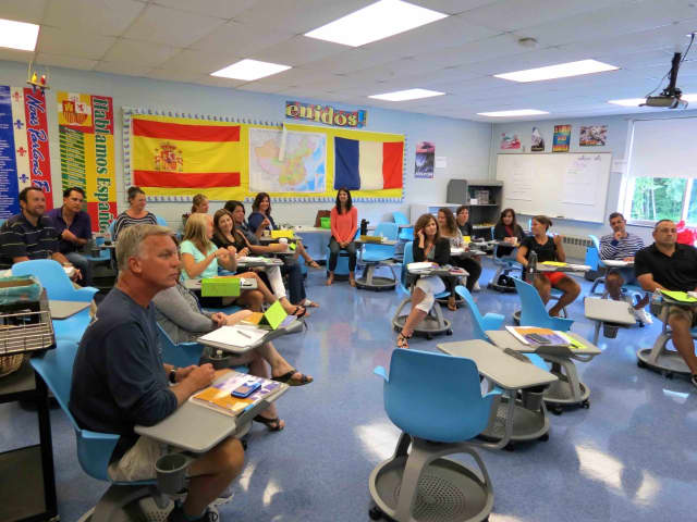 Briarcliff High School faculty completed a mental-health course ahead of the school year.