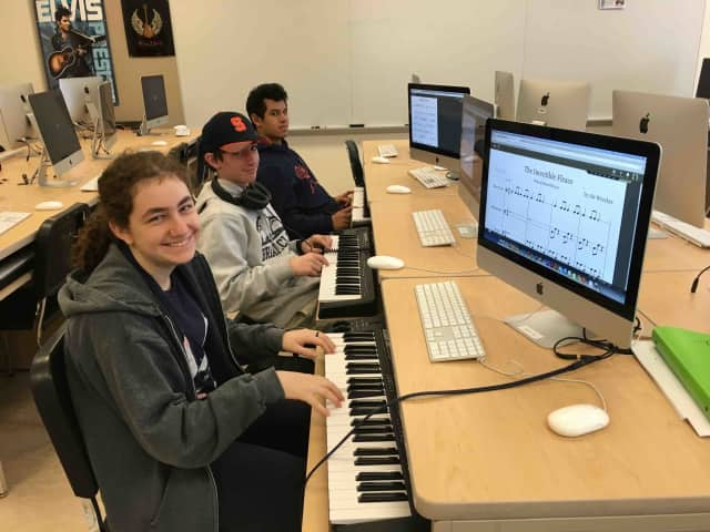 Cloud-based music learning platform MusicFirst is inspiring students at Briarcliff Middle and High Schools to compose their own music regardless of their prior knowledge about composing.