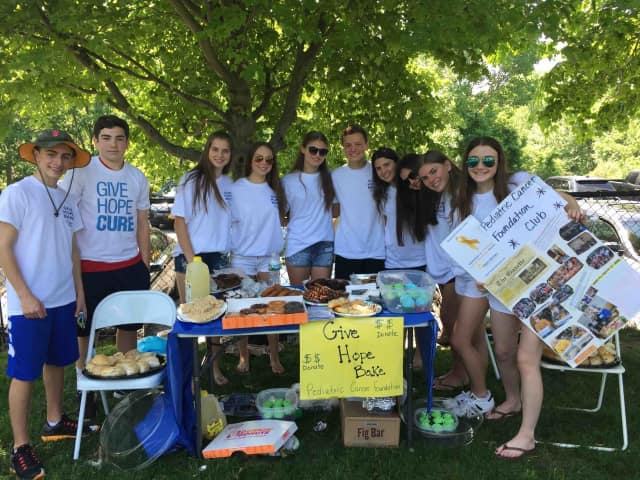 Briarcliff High School's Pediatric Cancer Club has raised more than $2,500 in recent weeks.