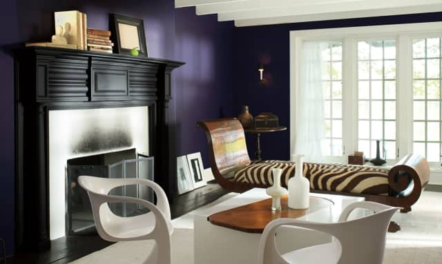 The rich, regal 'Shadow' has been named Benjamin Moore's Color of the Year for 2017.