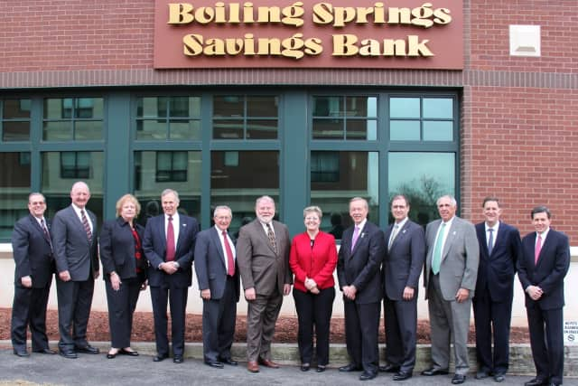 Boiling Springs Savings Bank in Rutherford is offering a commercial secured line of credit.